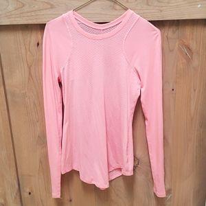 Lululemon long sleeve pink shirt. Size 4